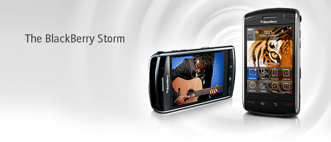 The new RIM Storm: BB+Touch...YUM!